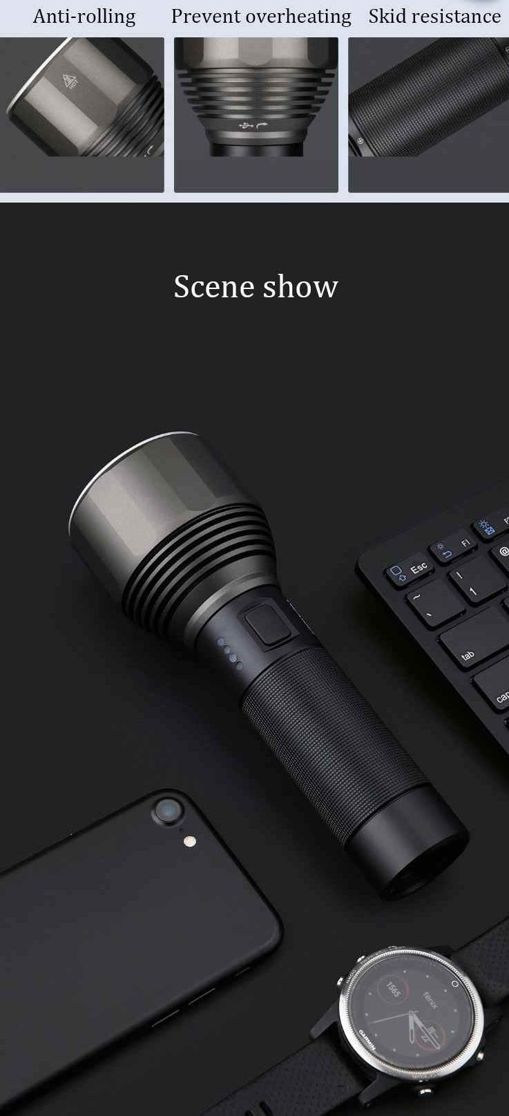 Nextool Emergency Flashlight