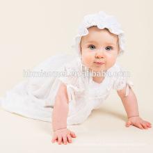 Primeiro vestido de aniversário para menina, princesa bebê 1 ano de idade vestido de festa para vestido de batismo