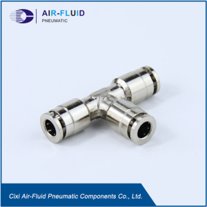 Air-Fluid  Sliplock Tee High Pressure Fittings.