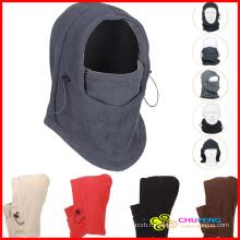 Бесплатная доставка Многофункциональный Тепловая Руно Балаклава шею зимние лыжные полная маска Крышка