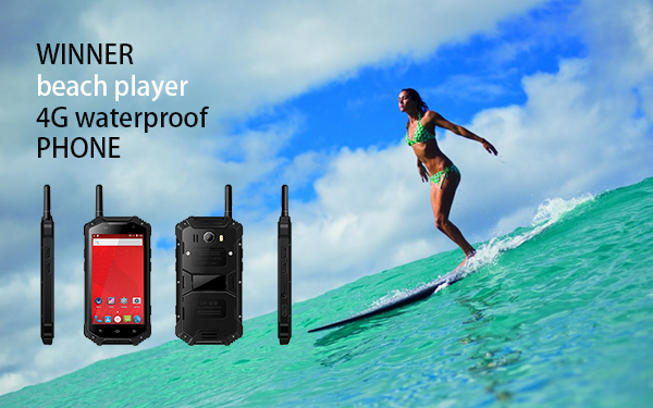 WINNER beach player 4G waterproof PHONE