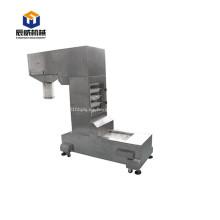 Utilice ampliamente el elevador de cangilones pequeño de hierro fundido
