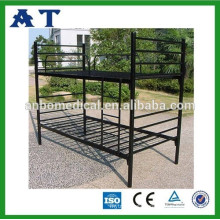 Black Metal Frame Bunk Beds/ Steel Bed/ Bed