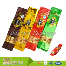 Manufacturer Wholesale Aluminum Foil Plastic Heat Sealable Custom Logo Printed Individual Tea Packaging Bags