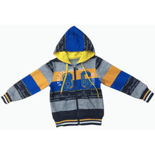 Men/ Boy Hoody Cardigan fashion Stripe