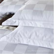 Ткань 100% высокого качества хлопка белого цвета