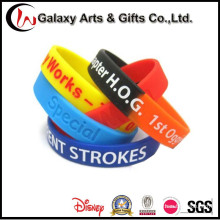 Customized Wholesale Printed Silicone Wrist Bands
