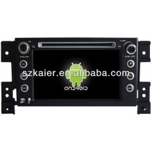Android System car dvd player for Suzuki Grand Vitara with GPS,Bluetooth,3G,ipod,Games,Dual Zone,Steering Wheel Control