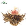 Fink-heißer Verkaufs-Kräuterkunst-Tee-Ball mit Jade-Schmetterlings-Blume und Jasmin
