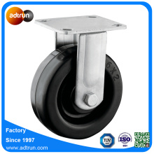Top Plate Casters Heavy Duty Rubber Wheels for Carts