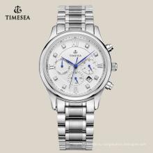 Высокое Качество Бизнес-Мужские Кварцевые Часы Из Нержавеющей Стали 72161