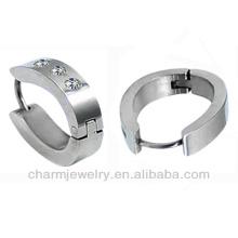 Heißer Verkauf Männer Huggie-Band-Ohrring-chirurgischer Stahlband-Ohrring für Jungen HE-016