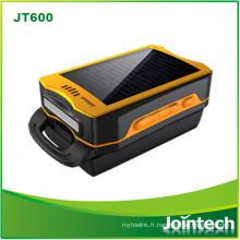 Traqueur rechargeable solaire portatif de GPS de taille mini pour la solution de cheminement de travailleur de terrain