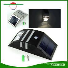 Outdoor Lighting Products Durable Stainless Steel Solar Wall Light PIR Motion Sensor Garden Security Light Solar Lamp Pathway Light