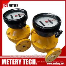 METERY TECH. Digital Diesel-Oval-Getriebe-Durchflussmesser MT100OG Serie