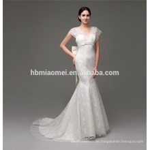 Blume Appliqued Ballkleid Hochzeitskleid Online-Shop