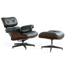 (SP-BC469) Charles Eames silla de salón con réplica otomana