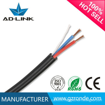 High quality copper standard PVC insulated 2 core RVVP cable