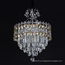 cristal octogonal grânulos candelabro weeding decoração lâmpadas