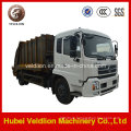 4X2 LHD Drive 12m3 Compress Garbage Truck