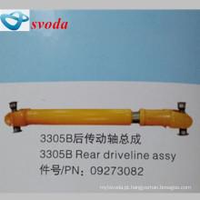 Terex dumper peças de aço inoxidável traseiro pto drive shaft09273082