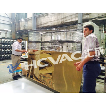 Stainless Steel Sheet PVD Titanium Coating Machine/Titanium Plating Equipment