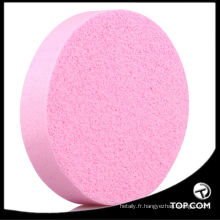 éponge cosmétique coin / éponge cosmétique en microfibre / éponge de maquillage cosmétiques