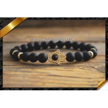 Golden Hamsa Hand Bracelets, Fashion Bracelets for Sales (CB054)