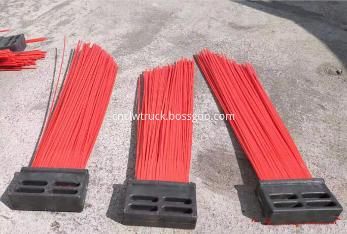 brushes for road sweeper truck