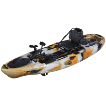 LLDPE pedal fishing kayaks with good stability made in China