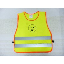 Children Safety Vest with Smile Printing