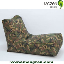 camouflage pattern beanbag outdoor long beanbag sofa
