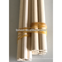 Tubos de tubos de cerámica de MgO Magnesia de campo refractario
