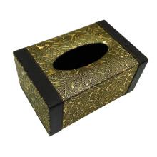 Leder Rechteck Tissue Box für Hotel / Gästezimmer
