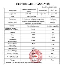 Fructooligosaccharides Supplement Fos CAS308066-66-2