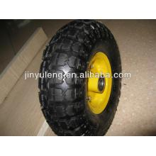 10 inch(10x3.50-4) rubber wheel for hand truck,hand trolley,lawn mover,wheelbarrow,toolcarts