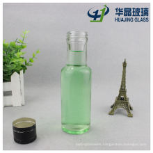 Mini Round 100ml Clear Glass Olive Oil Bottle Wholesale