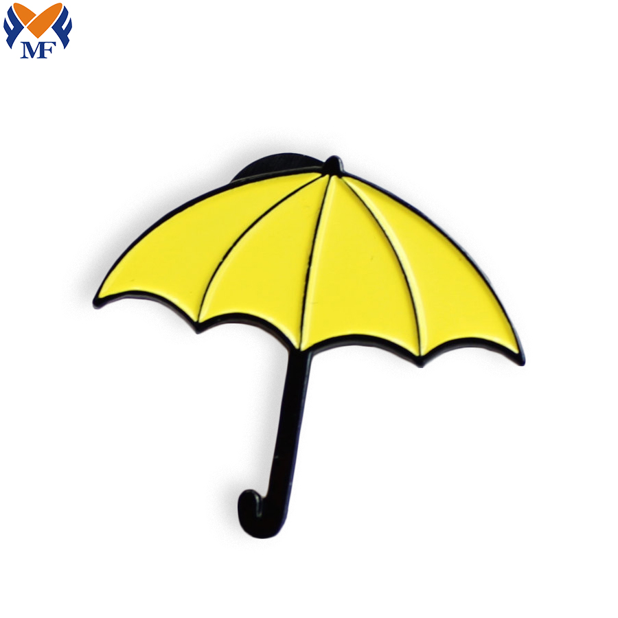 Yellow Umbrella Pin