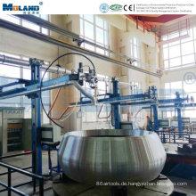 Filterluftreinigungssystem für aufgebaute Schweißmaschine