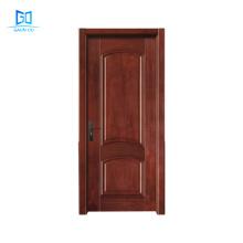 Bedroom Interior Wooden Doors Customize Design Natural Texture Door GO-G03