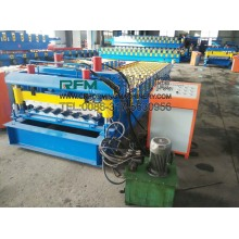 steel glazed tile cold roll forming machine