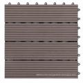 WPC DIY Decking Tiles 300*300mm Outdoor Interlocking garden tile for swimming pool tile