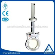 Válvula de porta hidráulica em aço inoxidável pn16