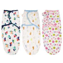 Großhandel Baby Swaddle einstellbare Decke Säugling Swaddle Wrap