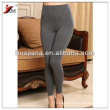 Fashion seamless plain knitting women Cashmere legging