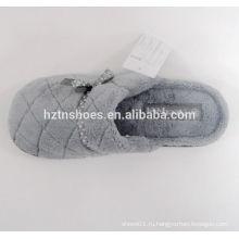 Мода пользовательских унисекс Крытый зимний Плюшевые туфли туфли