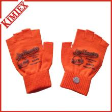 100% Acryl Werbe-Customs Kurz gestrickter Fingerless Handschuh