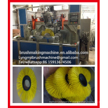 2 axis wire wheel brush machine