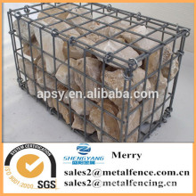 1000mmLX1000mmWX1000mmH galvanized welded gabion stone box