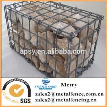 1000mmLX1000mmWX1000mmH гальванизированная сваренная коробка gabion камня
